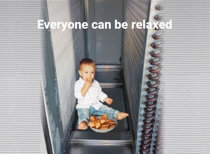 everyone can be relaxed
